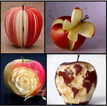 bentuk apel mana yg pling unik dan lucu....? jgn lupa klik wow ya....