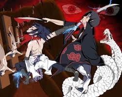 ini adalah genjutsu dari kaka beradik sasuke dan itachi