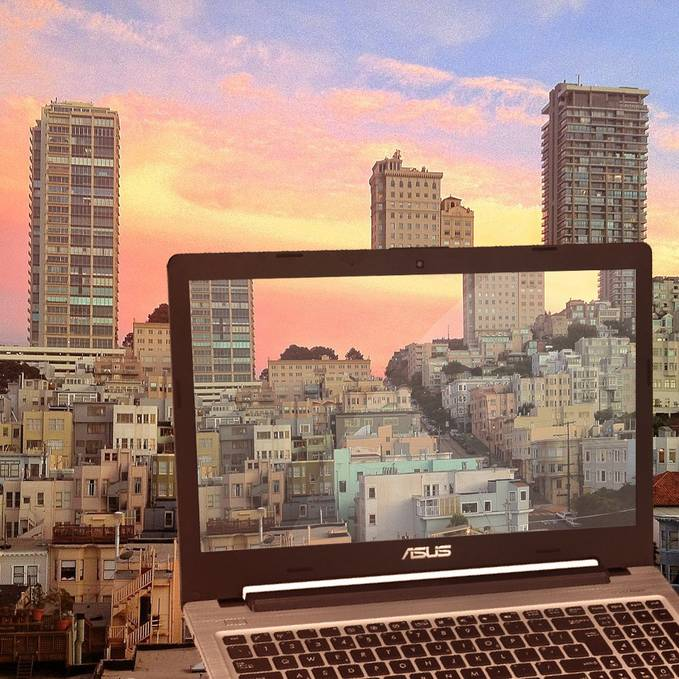 Enjoying a beautiful sunset in this city along the Barbary Coast…