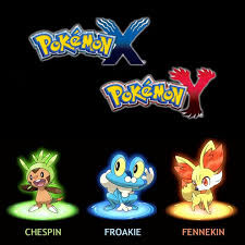 pokemon back new pokemon X and Y