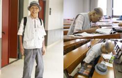 Kakek Usia 98 Tahun Semangat Jalani Kuliah di Universitas