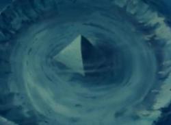 Misteri Piramida Raksasa di Bawah Segitiga Bermuda.