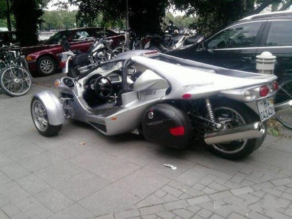 Campagna T-Rex, Motor atau Mobil?
