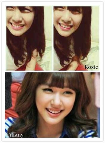 Lihat deh Sone ini gadis Filipina yang mirip sama Tiffany noona . Namanya Roxie Menurut kalian mirip atau gak ? Jangan lupa WOWnya^^ no EDIT