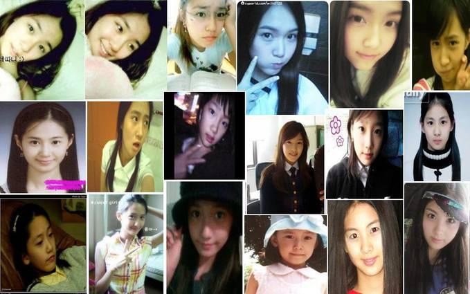 foto SNSD sebelum debut...tiffany, jessica,yuri,taeyeon,yoona n seohyun!!! siapa yang paling cantik menurut kalian ??