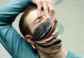FANTASTIC .... buku bisa di buat menyerupai sosok manusia ya di warnai dengan keren abis WOW