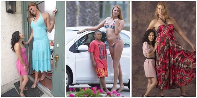 Model Wanita Paling Tinggi di Amerika WOWnya ya pada bae deh semua.... kisahnya baca di coment ya