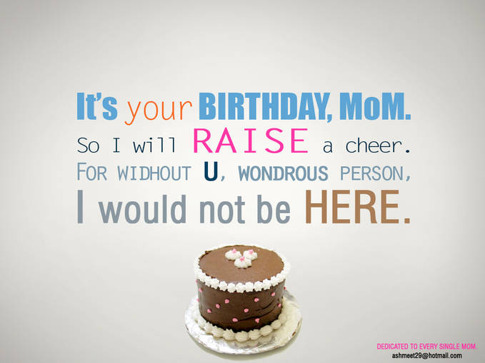 Happy Birthday Mom :) #Emma