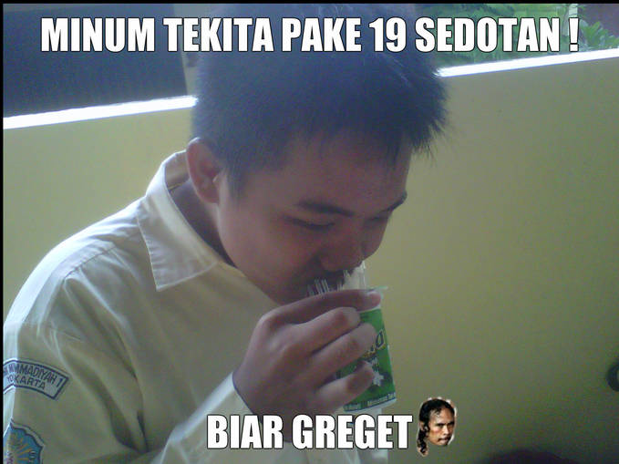 GREGET....