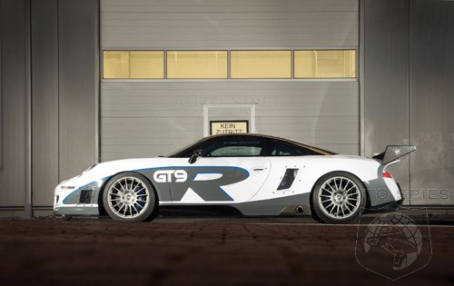 Porsche 9FF - GT9 R Mobil tercepat buatan porsche. bisa melaju hingga 400 km/h berkat mesinnya yang menghasilkan 1100 HP