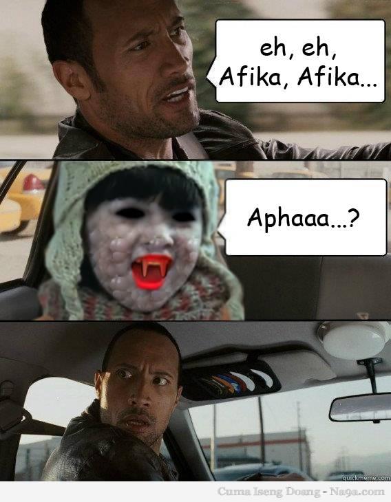 Waaah Afika Sereem banget....!! Walaupun serem Tpi Tetep Imut yah...!!