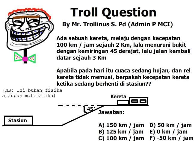 Troll Question