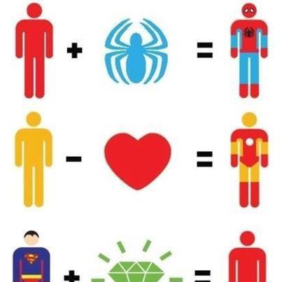 Jadilah seperti ini,,,,,, SUPER HERO menambahkan hewan/hati/cristal