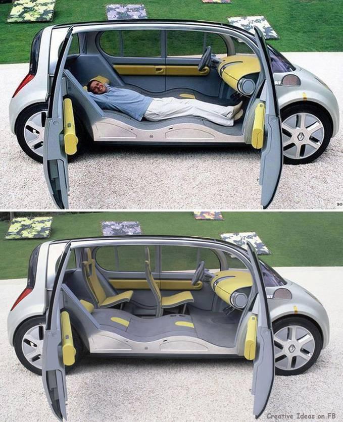 Mobil keluaran baru dari Dubai, mobilnya Unik banget ya gan, bisa buat tiduran tuh saat perjalanan jauh, dan kursinya bisa dilipat menjadi tempat untuk tidur / santai akan dipasarkan pada tahun 2015, waah Unik ya ~