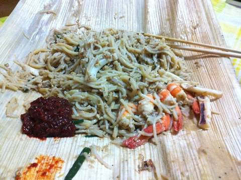 The famous cripple hokkien mee from serangoon road. Cant beat old airport road but definitely one of the best around.
