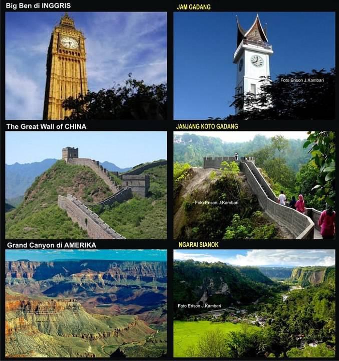 Gak Usah Keliling Dunia..!!! Di Sumatera Barat Sudah Ada Keajaiban Dunia..!!! * yAng SuKA JnGan LuPa WoW nya Ya. :D