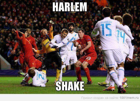 harlem shake dilapangan sepakbola =)) klik wow