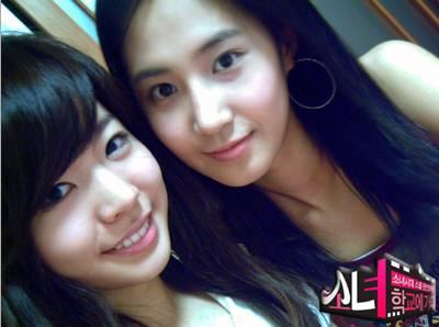 Sunny n Yuri jaman Into The new World nih....masih cute banget ya !!