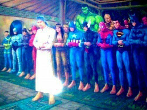 SUPER HERO JUGA SHOLAT