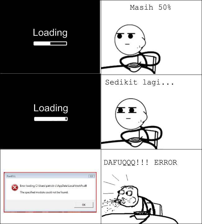 uda nunggu loading error deh :D