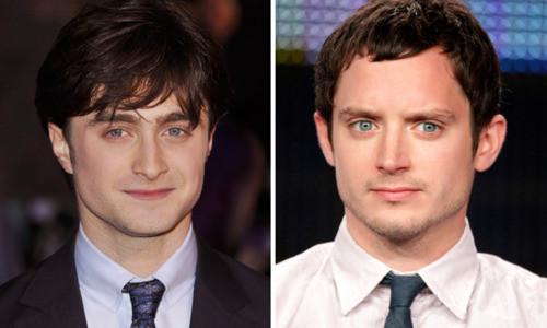 Daniel Radcliffe and Elijah Wood...... Mirp ya.... ^_^ *kakak beradik ya bang.... :D Klo mirip WOW-nya donk... ;)