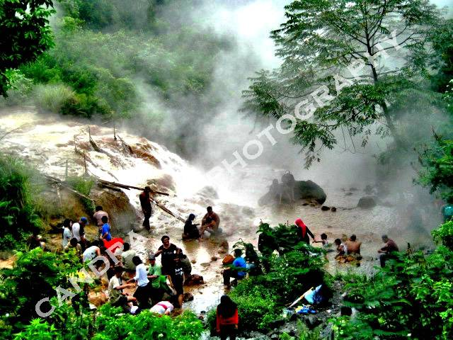 Gunung Kelud Kota Kediri, ada sungai air panas, dan anak gunung kelud