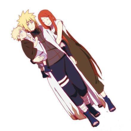 Keluarga Narutoyang bahagia, tapi sayang mereka sudah terpisah saat Naruto baru lahir, Minato & Kushina akan bertemu Naruto lagi di Naruto Shippuden The Movie 6, di Jepang memang udah ada tapi di Indonesia baru ada di April mendatang...