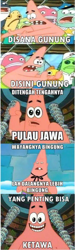 Hhahaha.. Patrick nya Kecanduan OVJ neh :D WOW nya Jangan Lupa...