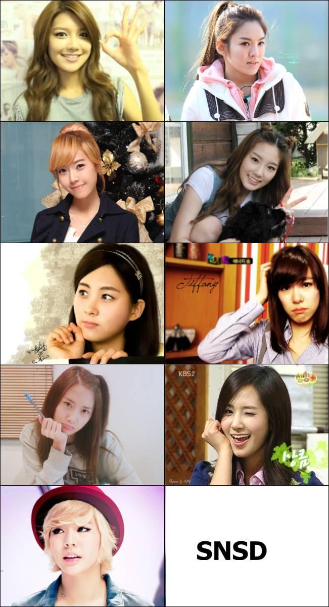 Siapa Biasmu? Me : Jessica,Taeyeon,Tiffany = TaeNySic