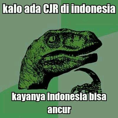 Ada CJR Di Indonesia... Indonesia Hancur!