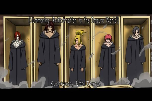 Ini gambar Edo Tensei di Naruto