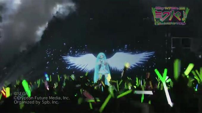 Inilah Konser Vocaloid... padahal cuma hologram, tpi koq kayak asli yah?? pengeenn nontoh langssunggg... (???)
