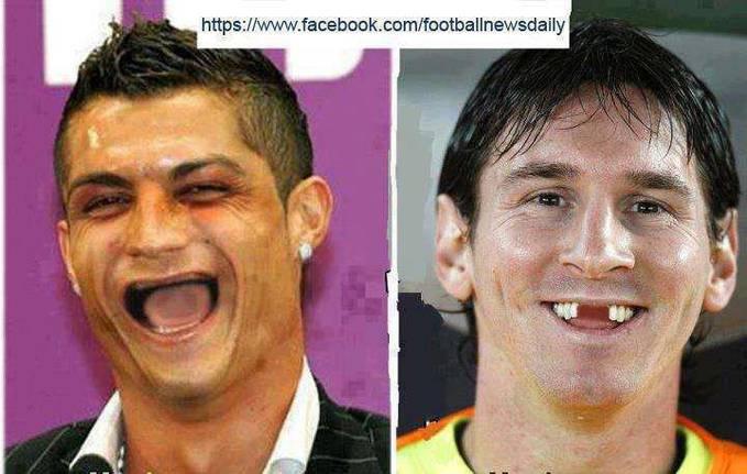 Cr Kalo Dah tua Kya Gne KAlie iie Messi Juga..?? Kocak+Koplak