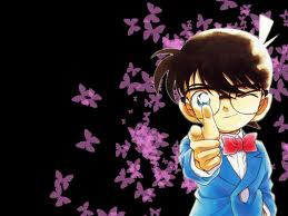 He is Edogawa Conan / Conan Edogawa. His real name is Kudo Shinichi / Shinichi Kudo