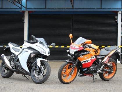 Kawasaki Ninja 250 Vs Honda CBR250R kalian pilih yang mana