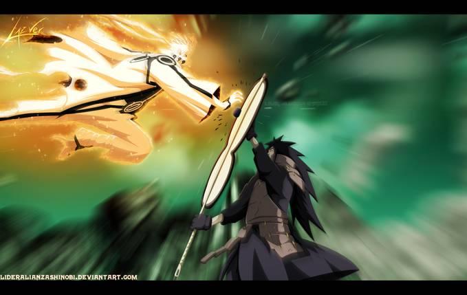Naruto Modo Bijuu vs Madara hanya di : http://www.facebook.com/LordAkatsukiGara