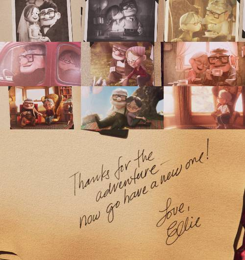 ada yang tau judul film ini? carl dan ellie so sweet banget ya! :) WOW nya dong kalau tau tentang film ini! :) THANKSS!!