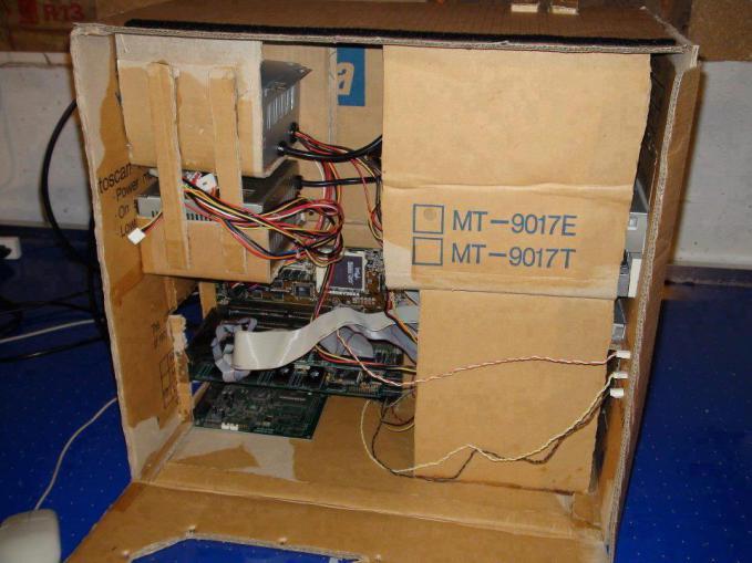 casing CPU dari kardus,,, Kreatif,, O.o