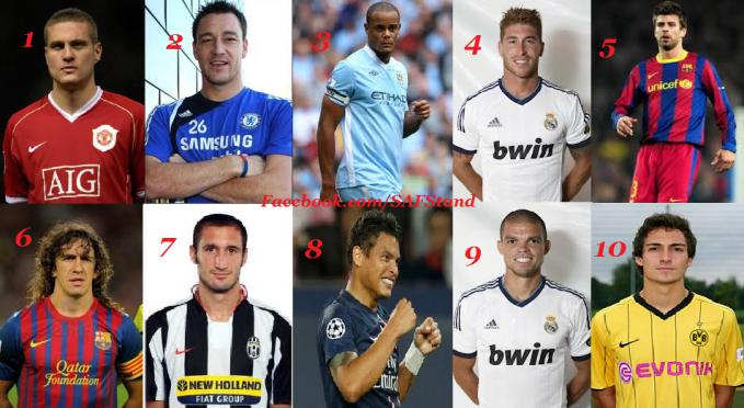 Who is the best? Type the number of the person you think is the best. Credits : Sir Alex Ferguson Stand