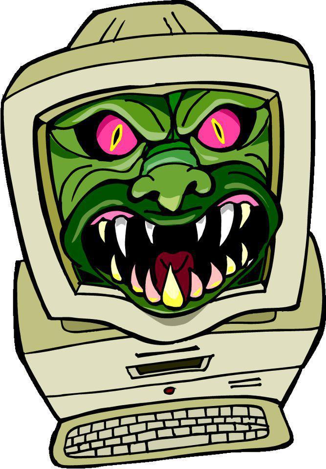 Gambar Animasi Virus