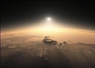 Foto Sunset dari Planet Mars Mars adalah planet terdekat keempat dari Matahari. Namanya diambil dari nama Dewa perang Romawi. Namun planet ini juga dikenal sebagai planet merah karena penampakannya yang kemerah-merahan.
