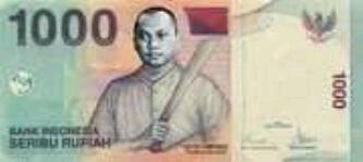 ini uang lima ribu baru. gambar gayus tambunan hehe.....