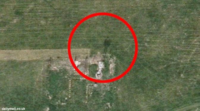 Wow, Penampakan Makhluk Halus di Google Earth