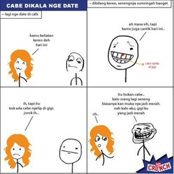MEME KOMIK INDONESIA :) Gk Baca Nyesel :p Wow Nya dong :D