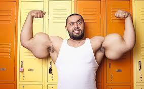 Wow otot pria ini memecahkan rekor dunia wow nya dulu donk biar tikeet