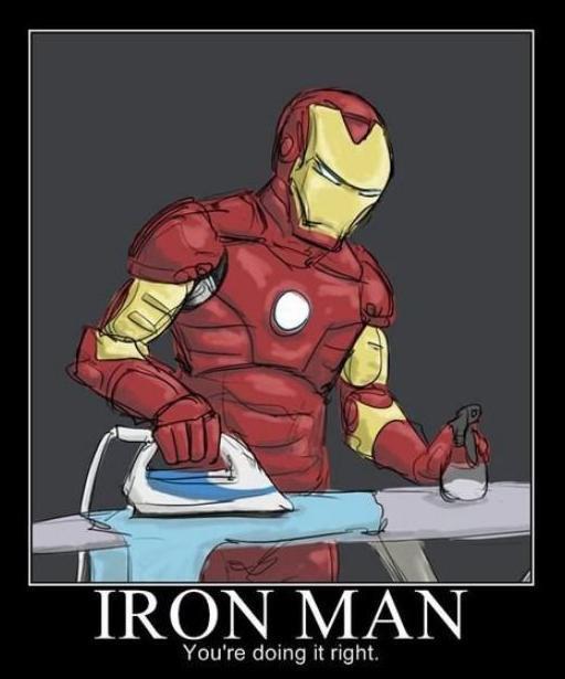 Iron man eamng istrika kan,,wkwkwkwkkw