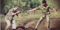 ledakan saat penggalian makam untuk pemakaman Soeharto