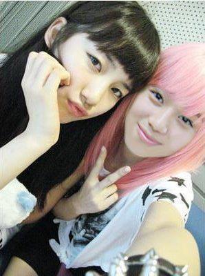 Suzy Miss A with Taemin SHINee !!!! sama cantik ya ?? hehehehehe