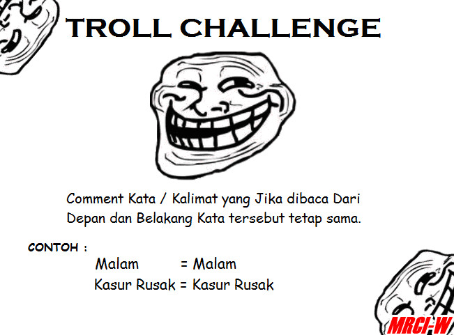 Troll Challenge