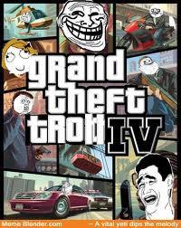 Kocak Grand Thieft Troll IV